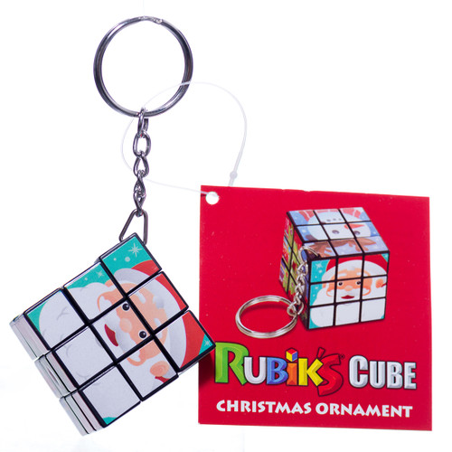 Rubik's Cube Christmas Tree Decoration