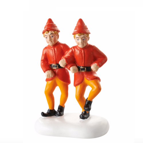 Department 56 The Twins' Happy Dance