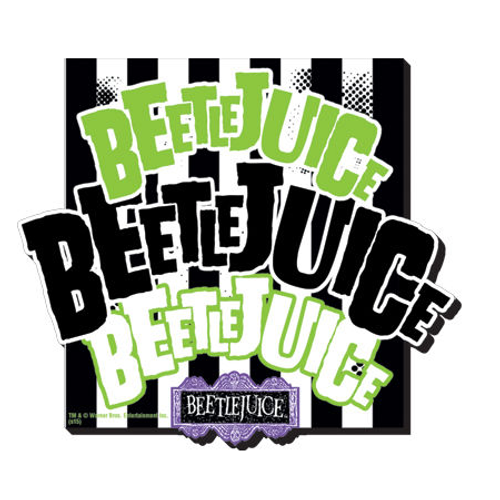Beetlejuice Chunky Magnet