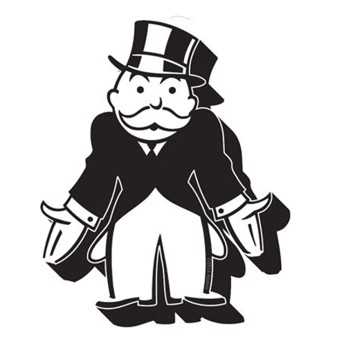 Monopoly - Banker Chunky Magnet