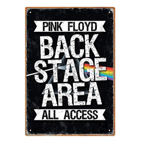 Pink Floyd - Backstage Pass Tin Sign