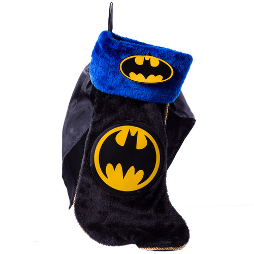 Batman Christmas Stocking with Cape