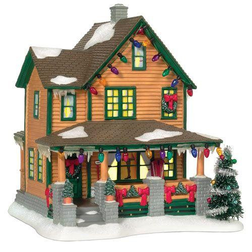 Ralphie's House A Christmas Story Village Department 56