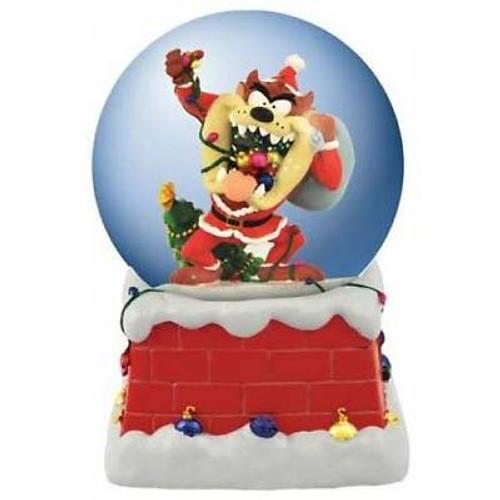 Looney Tunes Snow Globe: Santa Taz