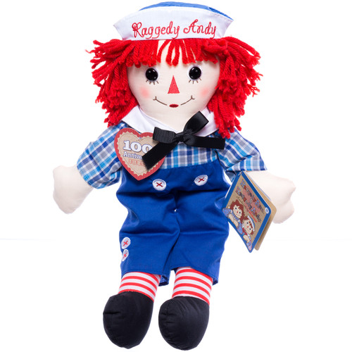 "16"" Raggedy Andy Doll"