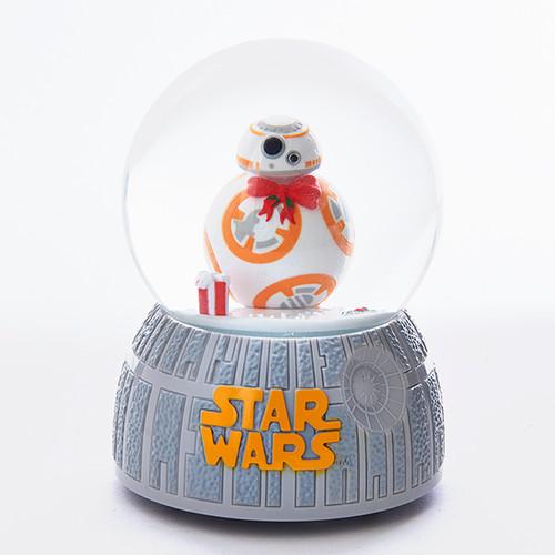 BB-8 musical holiday snow globe.  Star Wars