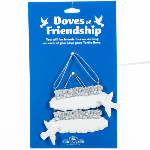 Home Alone Friendship Dove Personalized Ornament