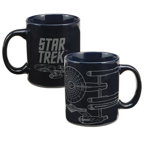 Star Trek Enterprise 12 oz Ceramic Mug
