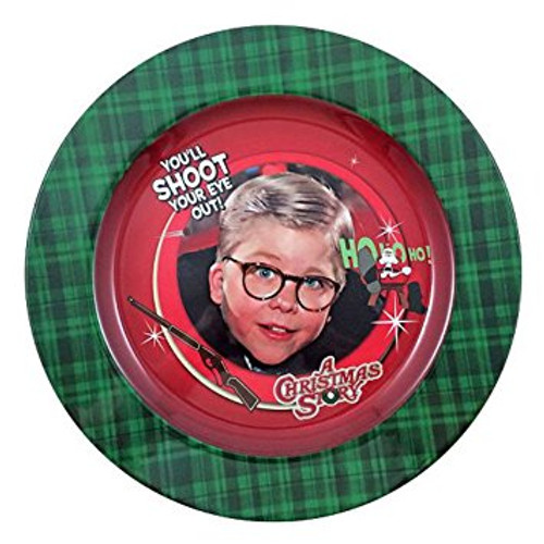 A Christmas Story You'll Shoot Your Eye Out Melamine Plate