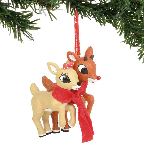 Rudolph and Clarice Ornament