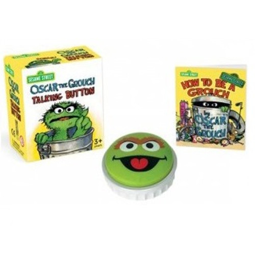 Oscar the Grouch Talking Button