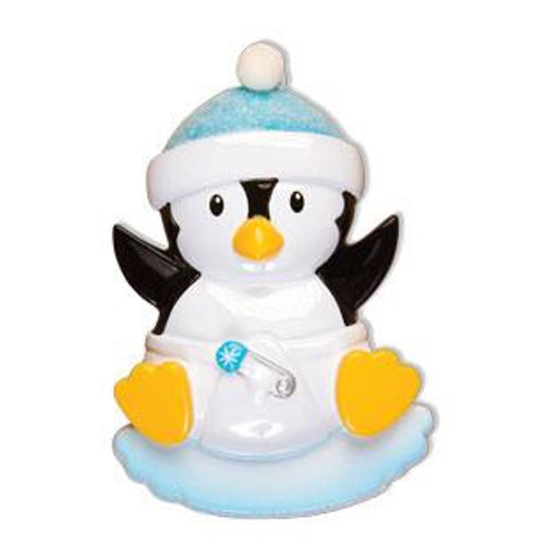 f2cd12bbf8 Baby Boy Penguin Personalized Ornament