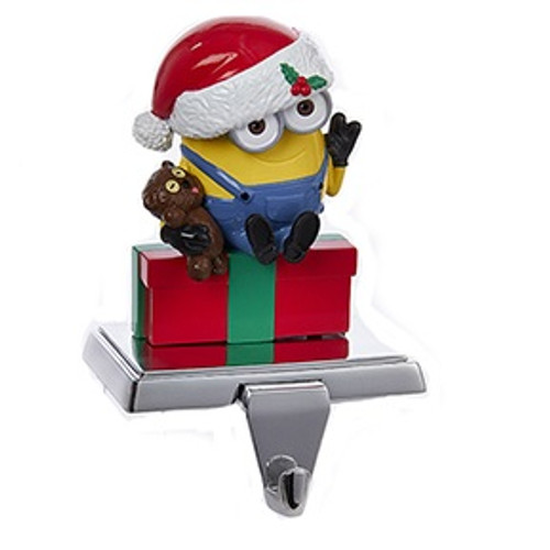 Minions Christmas.Despicable Me Minions Christmas Stocking Holder