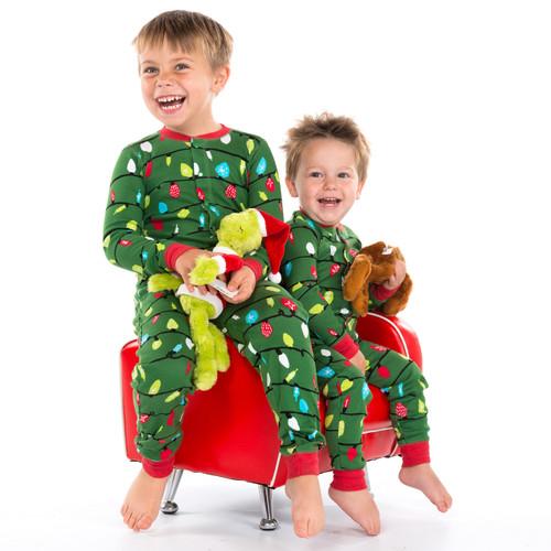 Christmas Pajamas Onesie.Northern Lights Kids Christmas Onesie By Hatley