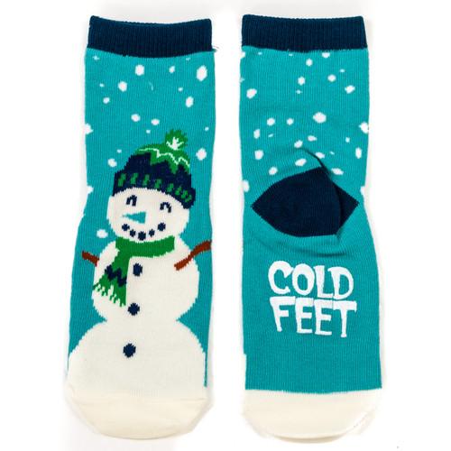 Cold Feet Kids' Socks Blue