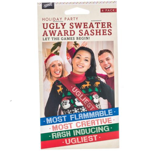 Ugly Sweater Award Sashes