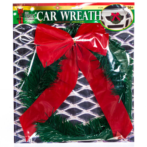 Car Wreath with Bow
