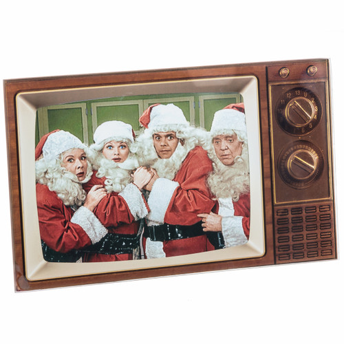 I Love Lucy Christmas Framed Photo