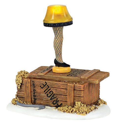 Lit Leg Lamp Dept 56