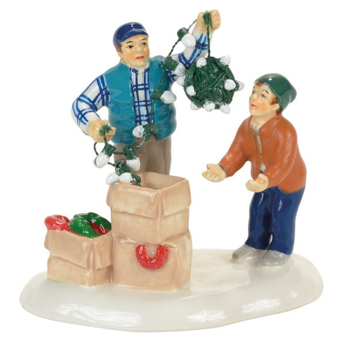 Clark and Rusty Continue the Tradition Department 56 Christmas Vacation Village