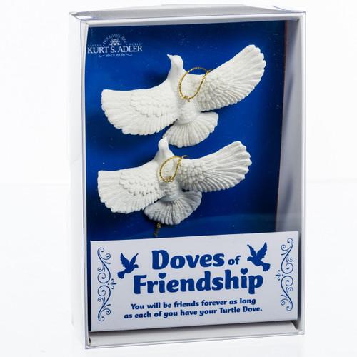 Home Alone's Turtle Dove Friendship Ornaments