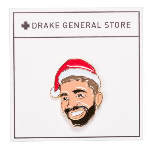 Santa Drake Enamel Pin