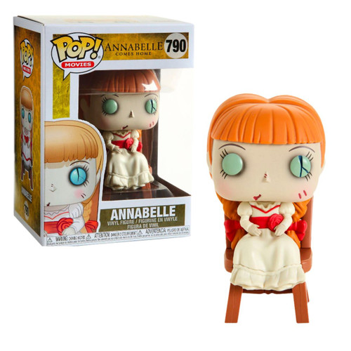 Funko Pop Annabelle in chair Figure with Box