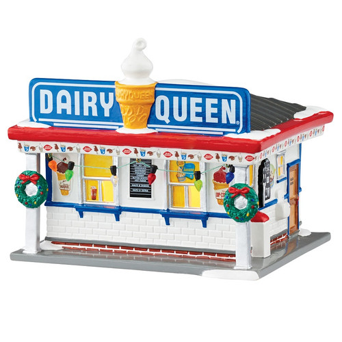 Department 56 Dairy Queen Original Snow Village Building