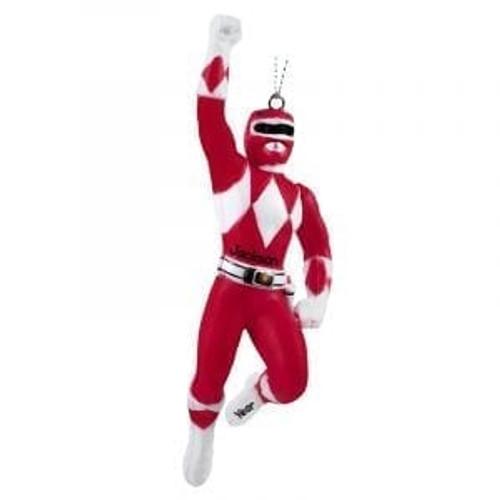 Power Rangers Christmas Jumper.Mighty Morphin Power Rangers Ornaments