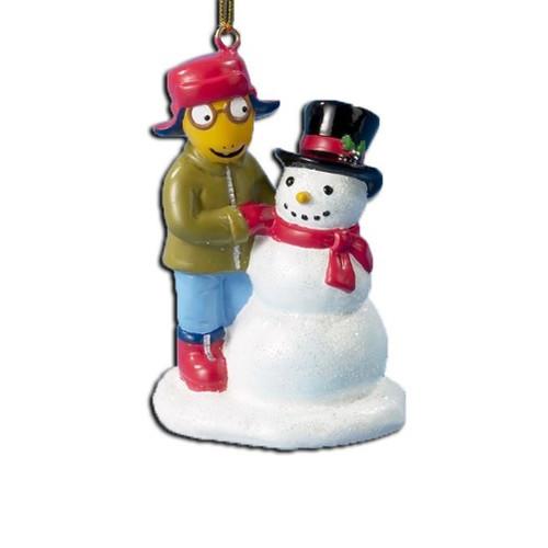 Arthur & Snowman Ornament