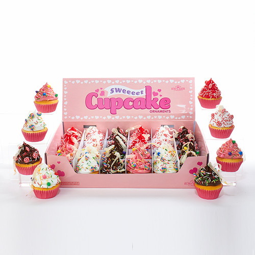 Squishy Cupcakes with Candy Ornament