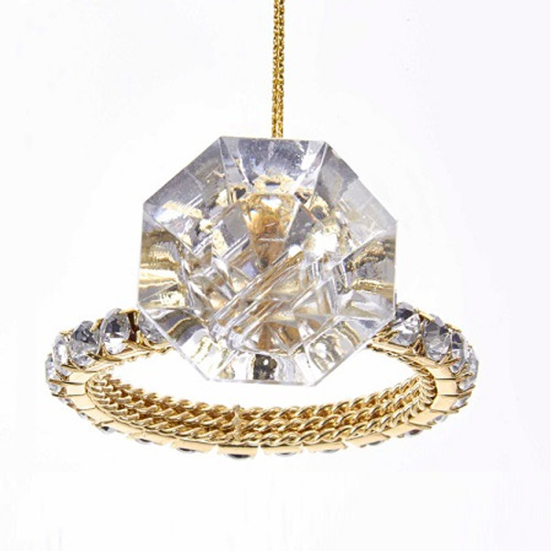 Shiny Diamond Ring Ornament