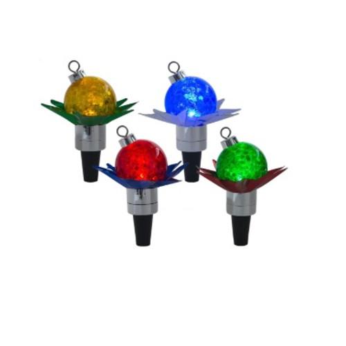 Reflector LED Ball Bottle Stopper
