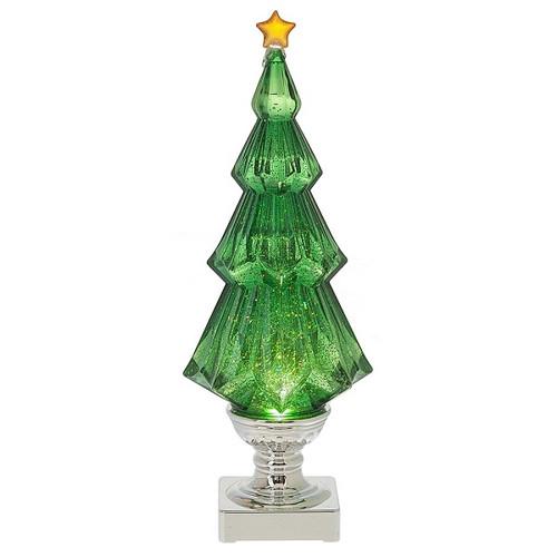 Green Lighted Shimmer Tree