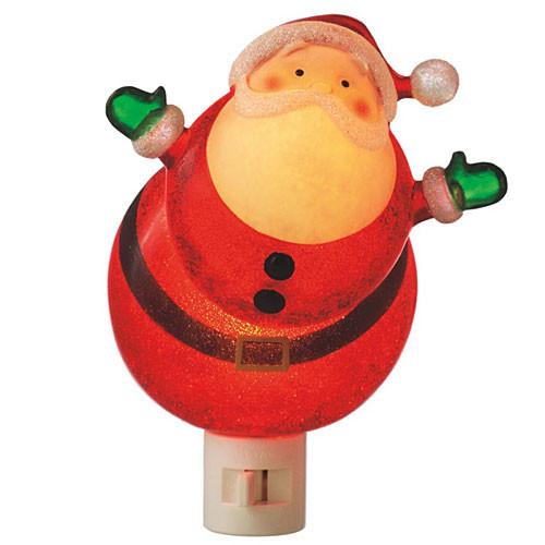 Wobble Santa Night Light