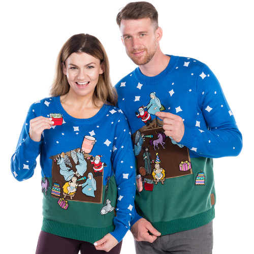 Diy Ugly Sweater Nativity Christmas Sweater