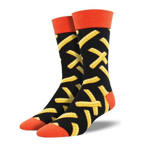 Crinkle Cut Men's Crew Socks