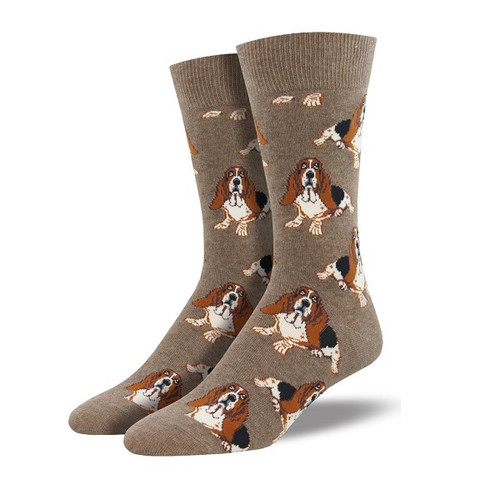 Nothing but a Hound Dog Men's Crew Socks