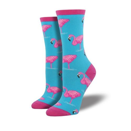 Flamingo Women's Crew Socks