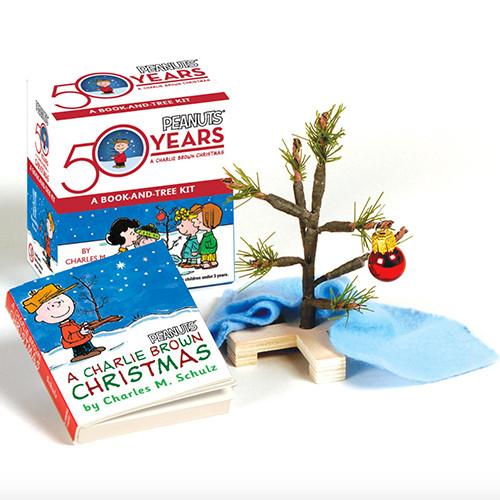 Charlie Brown Christmas Tree and Book Kit