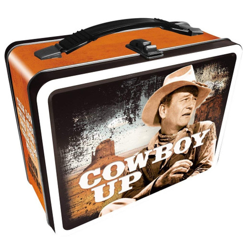 "John Wayne ""Cowboy Up"" Lunch Box"