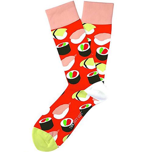 Sushi Yum Yum Unisex Two Left Feet Socks
