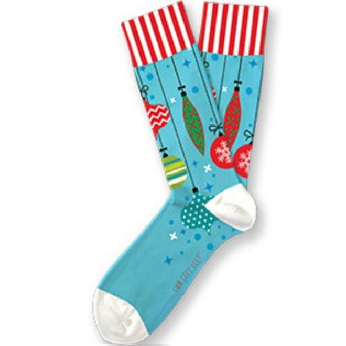 Trim-A-Tree Christmas Unisex Two Left Feet Socks