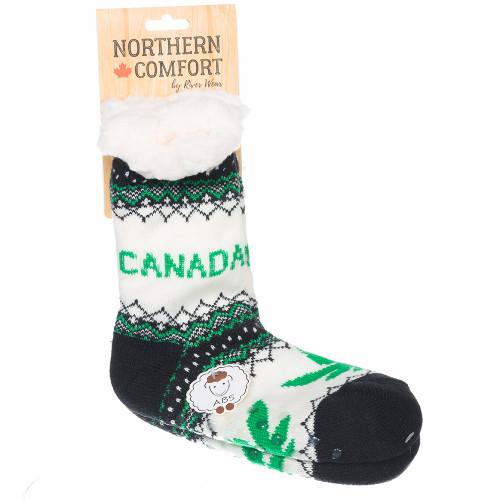Marijuana Socks Canada Pot Leaf Sock