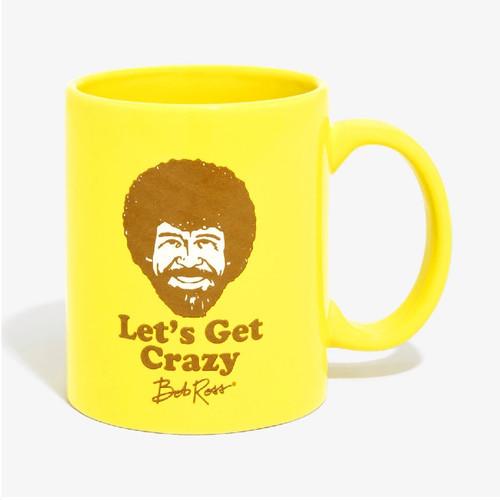 Bob Ross Let's Get Crazy 11oz Mug