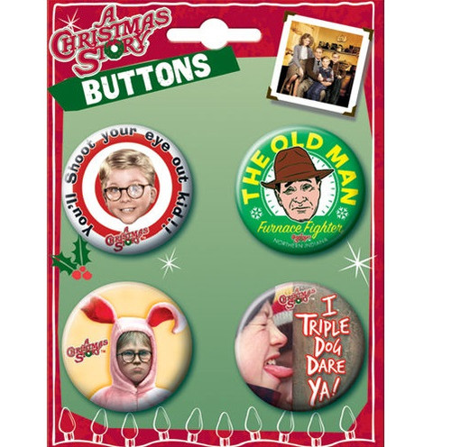A Christmas Story Buttons