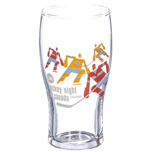 CBC Hockey Night in Canada Pint Glass Set of 4 | RetroFestive ca