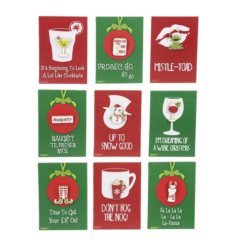 Very Punny Christmas Pins