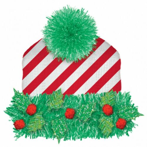 Knit Hat w/Tinsel