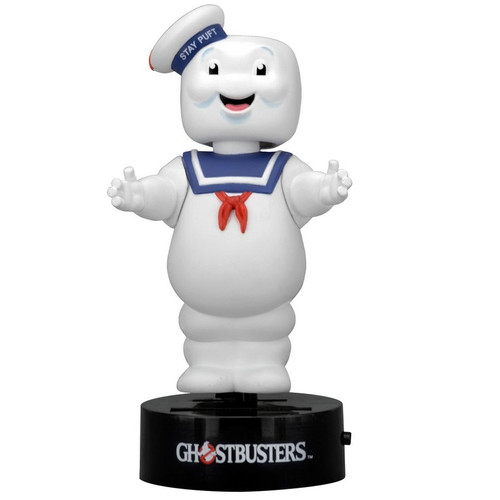 Ghostbusters Staypuft Marshmallow Man Solar Powered Body Knocker